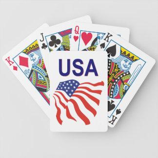 USA playing cards