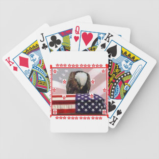 USA.png EAGLE Bicycle Playing Cards