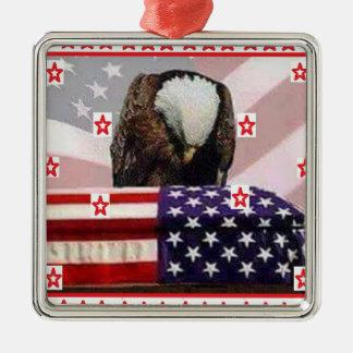 USA.png EAGLE Metal Ornament