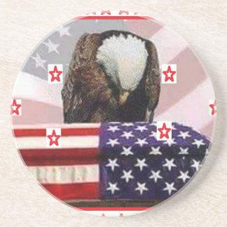 USA.png EAGLE Sandstone Coaster