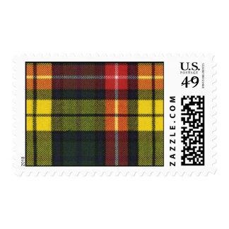 USA Postage Buchanan Modern Tartan Print