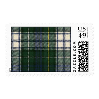 USA Postage Campbell Dress Modern Tartan Print