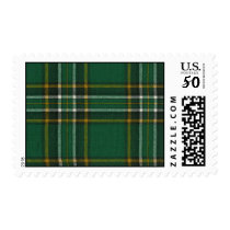 USA Postage Irish National Tartan Print