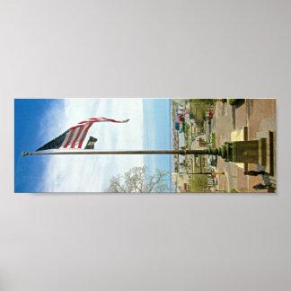 USA, POW, MIA Flags 36x12 Posters