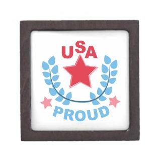 USA PREMIUM KEEPSAKE BOX