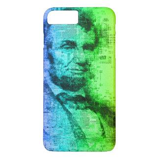 USA President Abraham Lincoln Rainbow Typography iPhone 8 Plus/7 Plus Case