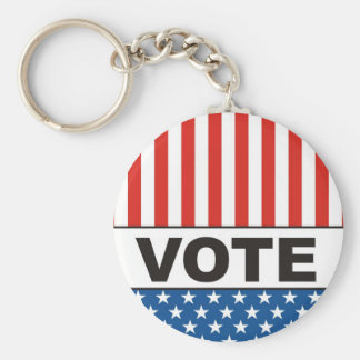 usa president elections vote badge political 2012 keychain