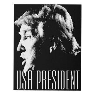 USA PRESIDENT PANEL WALL ART