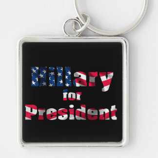 USA Presidential Election Premium-Square-Key-chain Keychain