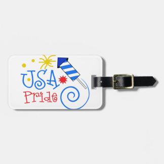 Usa Pride Bag Tag