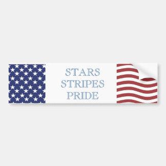 USA PRIDE Bumper Sticker
