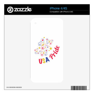 USA Pride Skin For iPhone 4S