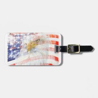 USA Proud Bag Tag