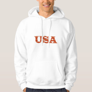 USA - Proud IDENTITY Sparkle RED ENERGY STRENGTH Hoodie
