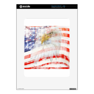 USA Proud iPad Skins