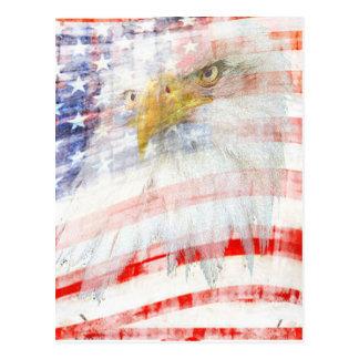 USA Proud Postcard