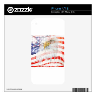 USA Proud Skins For iPhone 4