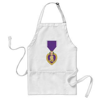 USA Purple Heart Medal Adult Apron