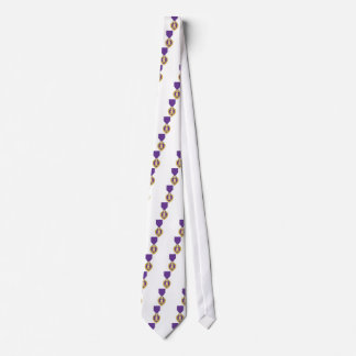 USA Purple Heart Medal Neck Tie