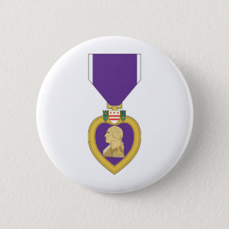 USA Purple Heart Medal Pinback Button