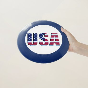 USA Themed USA Red Blue & White Flag Wham-O Frisbee