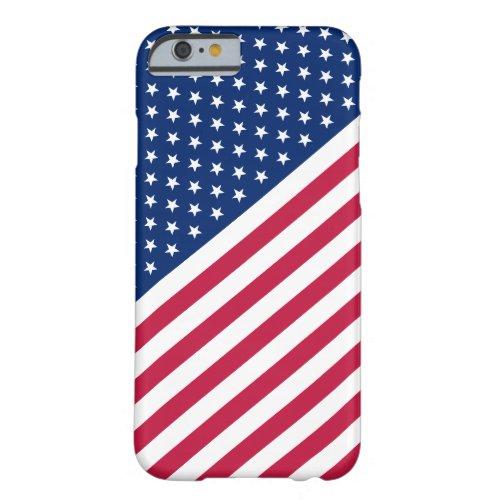 USA Red Blue White Stripes Stars Flag iPhone6 Case Phone Case