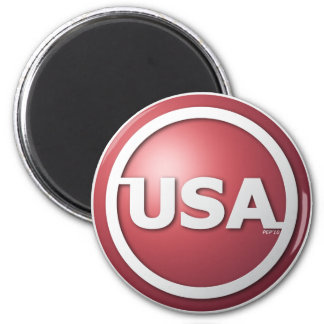 USA Red Magnet