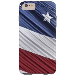 USA Red, White and Blue American Patriotic Flag Tough iPhone 6 Plus Case