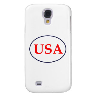 USA Red White and Blue The MUSEUM Zazzle Gifts Galaxy S4 Case