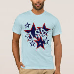 USA Red White and Blue Tshirts and Gifts