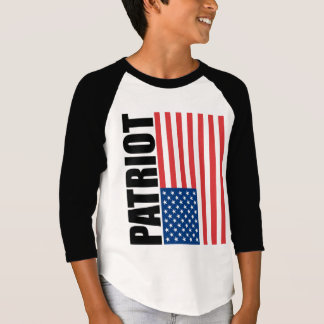 USA Red White & Blue Patriot T-Shirt