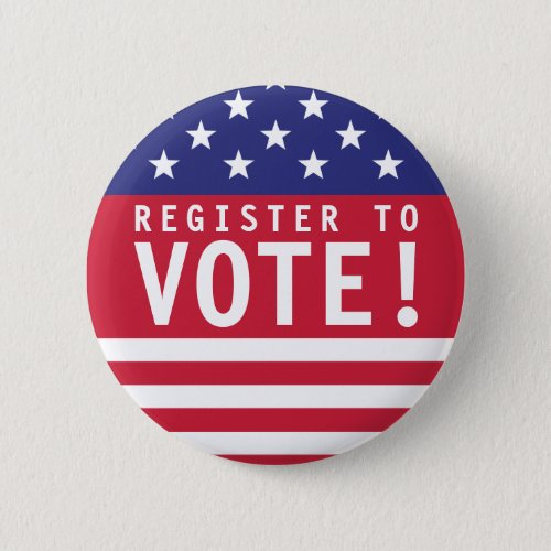 USA Register to Vote Button