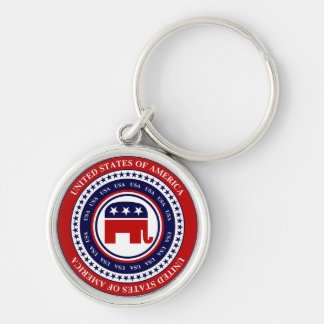 USA Republican Key Chain