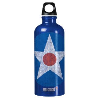 USA Retro Airplane Logo Bottle SIGG Traveler 0.6L Water Bottle