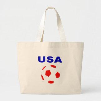 usa retro soccer t shirt bags