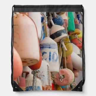 USA, Rhode Island, Block Island Drawstring Bag