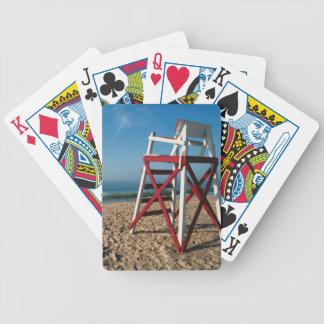 USA, Rhode Island, Charleston Beach, Beachfront Bicycle Playing Cards