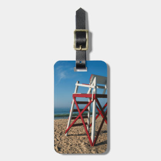 USA, Rhode Island, Charleston Beach, Beachfront Luggage Tag