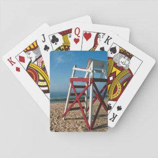 USA, Rhode Island, Charleston Beach, Beachfront Playing Cards