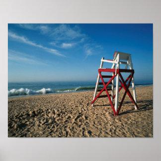 USA, Rhode Island, Charleston Beach, Beachfront Poster
