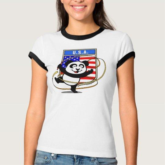 USA Rhythmic Gymnastics Panda Shirt