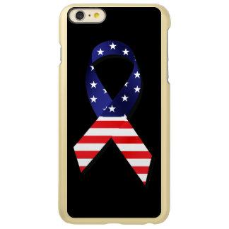 USA Ribbon Incipio Feather Shine iPhone 6 Plus Case