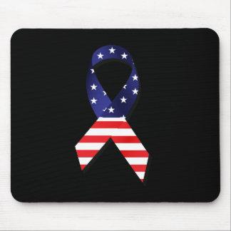 USA Ribbon Mouse Pad