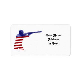 USA Rifle Shooter - Shooting Contender Address Label