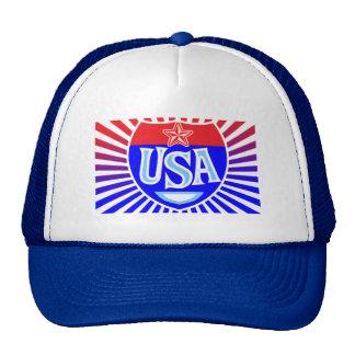 USA road cap Trucker Hat