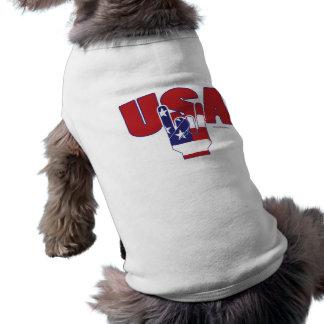 USA Rocks! Fourth of July Tee