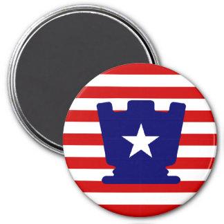 USA Rook - Zero Gravity Chess (CW) Magnet