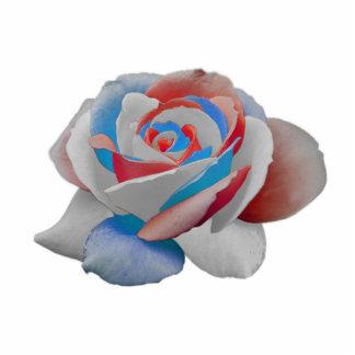 usa rose cutout