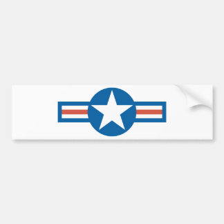 USA Roundel Bumper Sticker