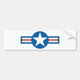USA Roundel Bumper Sticker